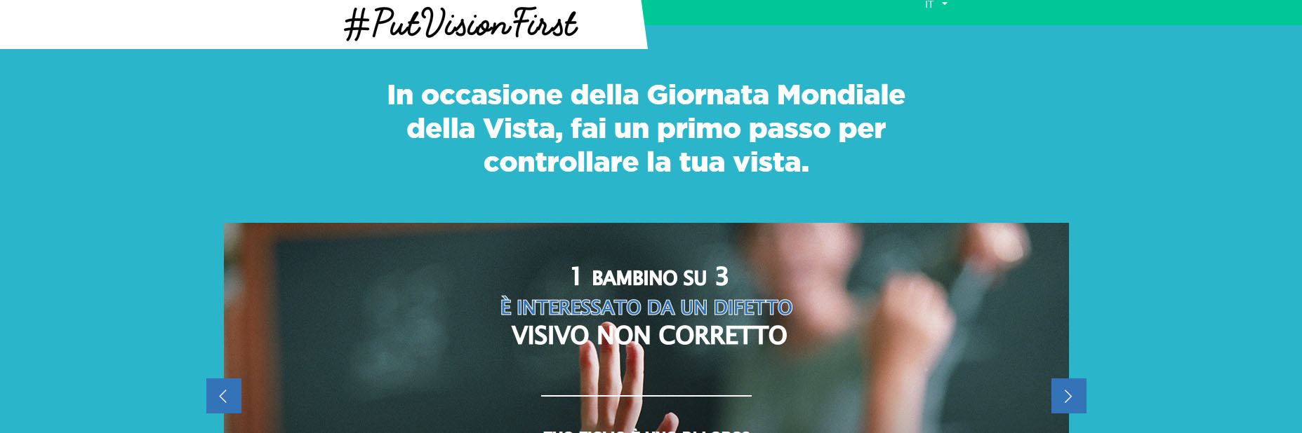 Campagna put vision first